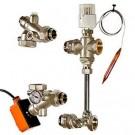 Насосно-смесительный узел для тёплого  пола Dualmix (130 мм) VALTEC