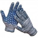Перчатки х/б с ПВХ (10 класс вязки)