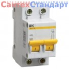 Автоматический двухполюсный выключатель C ВА47-29 2Р 6 А (MVA20-2-006-C) IEK