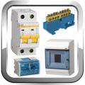 Автоматические выключатели, электросчётчики, щиты, шины, DIN-рейки
