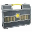 """Ящик-органайзер для крепежа с передвижными перегородками 21"""" (46×34,3×9 см) FIT"""
