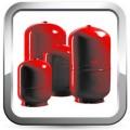 Баки мембранные для систем отопления и ГВС
