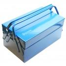 Ящик для инструментов двухъярусный металлический (35×21×16 см)